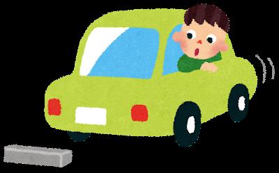 車のシフトレバーをパーキングに入れて エンジンを切った後車が動く