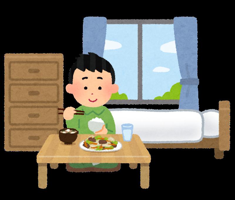 一人暮らしの奴らって普段ご飯何食べてる?