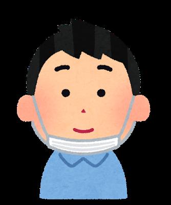 【うーんw】鼻マスクマン、センター試験失格wwwwwwwwwww