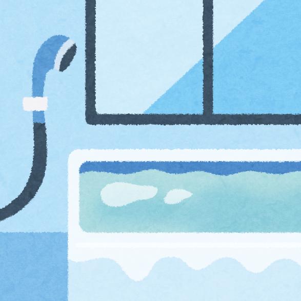 【ホラー画像】浴室ドアに浮かび上がる無数の肉球・・・